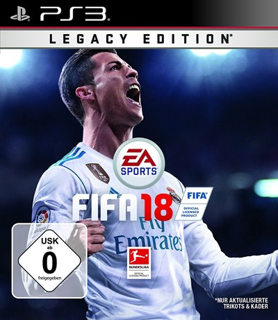 FIFA 18 Legacy Edition PlayStation 3