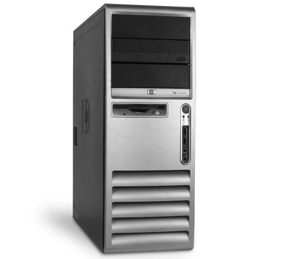 HP D530 Tower PC Computer - Intel Pentium 4 CPU - 2,8 GHz 512 MB DDR1 DVD-Brenner