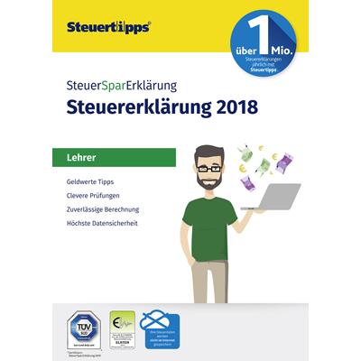SteuerSparErklärung Lehrer 2019 (für Steuerjahr 2018) - ESD