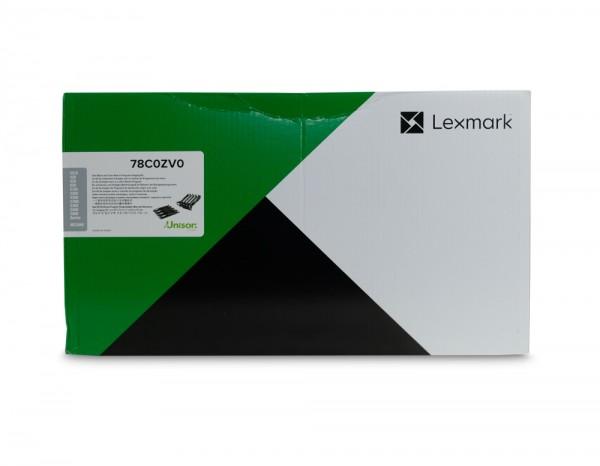 Lexmark 78C0ZV0 Trommeleinheit / Toner - Schwarz Cyan Magenta Gelb - bis zu 125.000 Seiten