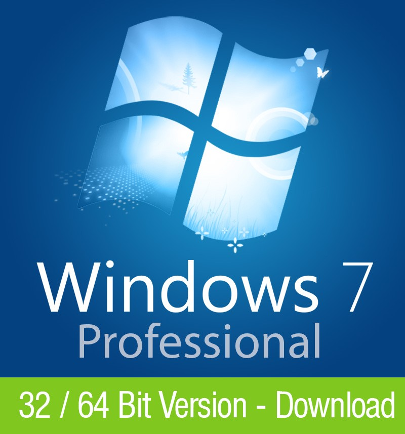Windows 7 Professional 32 / 64 Bit – Download Key