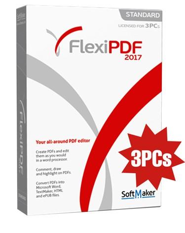 Flexi PDF Standard 2017 – 3PC