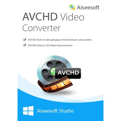 Aiseesoft avchd video converter - Lebenslange Lizenz - ESD