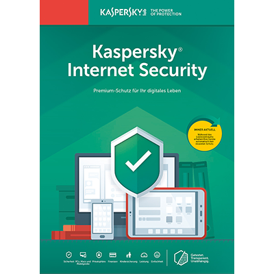 Kaspersky Internet Security (2019) - 1 Gerät / 12 Monate - ESD