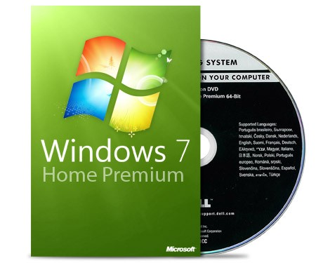 Microsoft Windows 7 Home Premium 64 Bit – Multilanguage Deutsch
