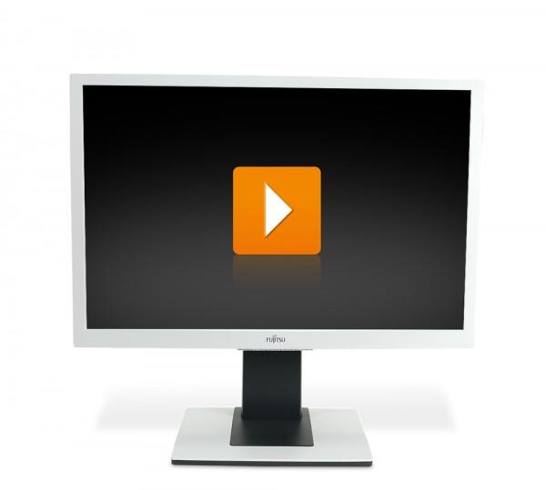 Fujitsu Scenicview B24W-5 24 Zoll Full-HD Flachbildschirm Monitor - weiss