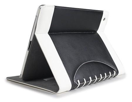 Noratio Smart Cover Football Style für Apple iPad Air - Schwarz-Weiß