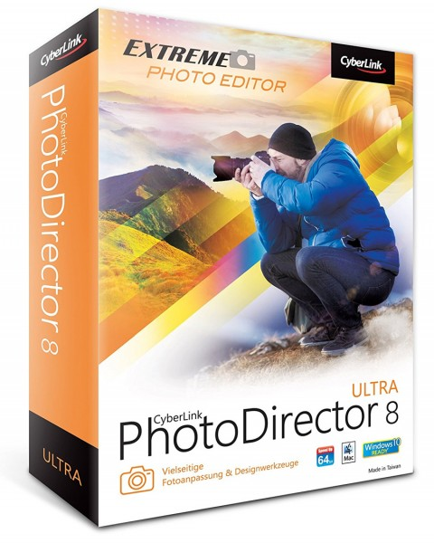 Cyberlink PhotoDirector 8 Ultra - PC / MAC