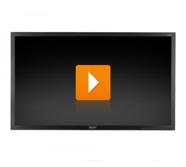 Acer B246HL - 24 Zoll Full HD TFT Flachbildschirm Monitor - interne Lautsprecher - ohne Fuß