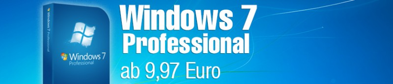 Windows 7 Professional kaufen