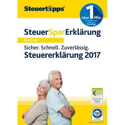 Steuer-Spar-Erklärung Rentner & Pensionäre 2018 (für Steuerjahr 2017) - ESD