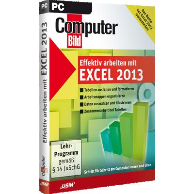 ComputerBild - Effektiv arbeiten mit Excel 2013 - ESD