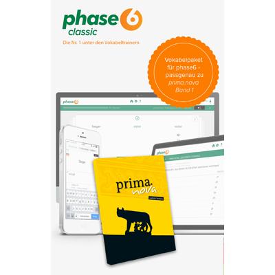 phase-6 Vokabelpaket zu prima.nova - Band 1 - add-on - ESD