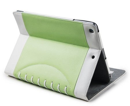 Noratio Smart Cover Football Style für iPad Air 2 - grün