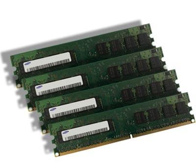 Samsung PC Arbeitsspeicher - 4x 512MB DDR2 - PC2-4200 533 MHz