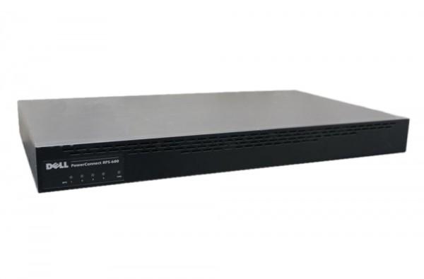Dell PowerConnect - RPS-600 redundantes Power-Netzteil für 4 Switches - Schwarz