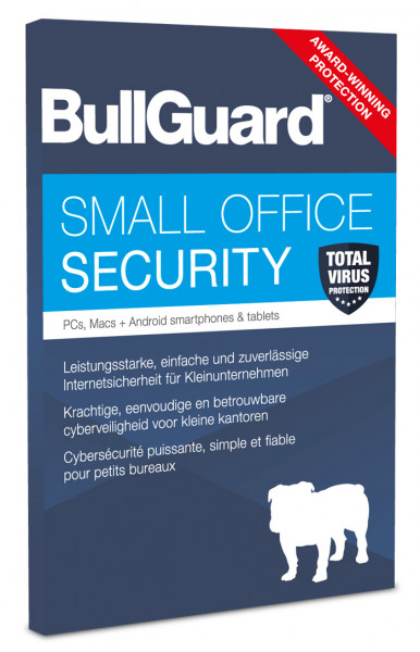 Bullguard Small Office Security - 10 Devices / 1 Jahr - PKC