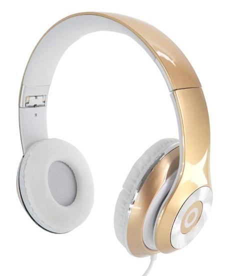 QSS Dynabass Stereo Kopfhörer / Headset - Gold