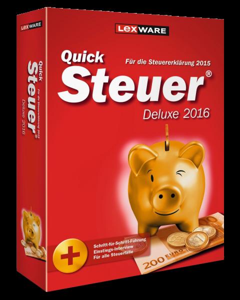 Lexware QuickSteuer Deluxe 2017