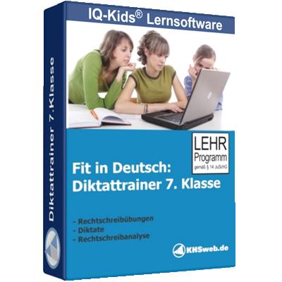 Fit in Deutsch - Diktattrainer - Klasse 7 - ESD