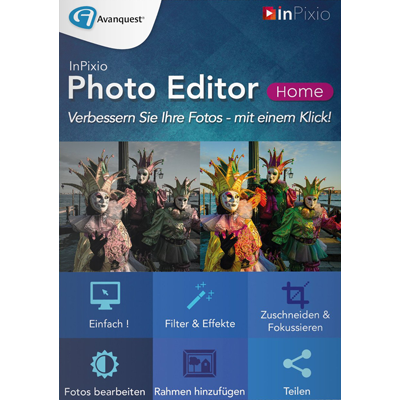 InPixio Photo Editor Home - ESD