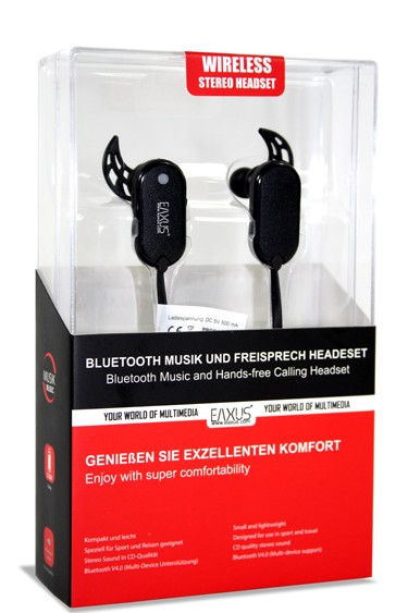 EAXUS Bluetooth Headset V4.0 Stereo