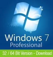 Windows 7 Professional Download Aktivierungsschlüssel für 32 / 64 Bit