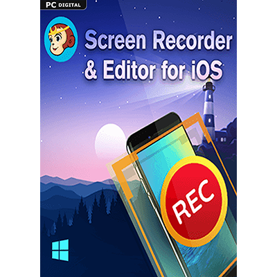 DVDFab Screen Recorder & Editor for iOS (24 Monate) - ESD