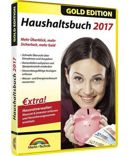 Haushaltsbuch 2017 - Gold Edition