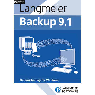 Langmeier Backup 9.1 Professional inkl. 2 Jahre Maintenance - ESD