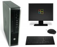 HP Elite 8200 USDT PC Computer Bundle - Intel Core i5-2500s 4x 2,7 GHz