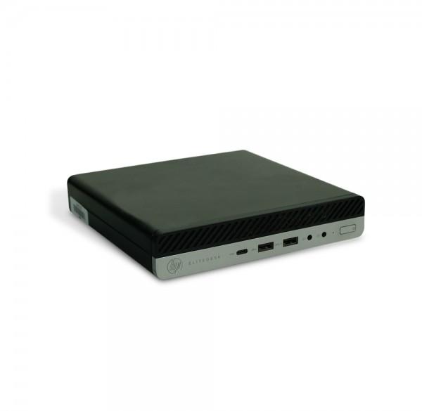 HP EliteDesk 800-G3 Mini-Desktop PC Computer - Intel G4400T 2x 2,9 GHz