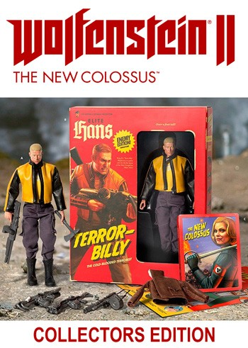 Wolfenstein II: The New Colossus - Collectors Edition - PC