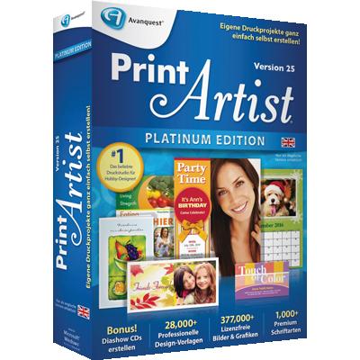 Print Artist Platinum 25 (Englisch) - ESD