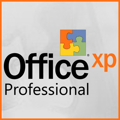 Microsoft Office XP Professional - Word, Excel, Outlook, Power Point, Access, Publisher - MLK