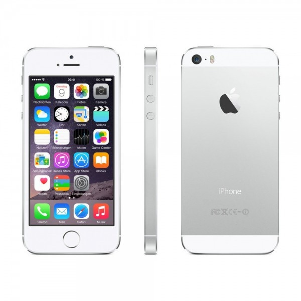 Apple iPhone 5S - 16 GB - WiFi / 4G / Bluetooth - Weiß / Silber - B-Ware