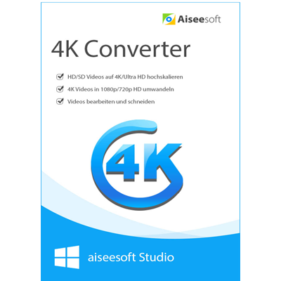 Aiseesoft 4K Converter - Lebenslange Lizenz - ESD