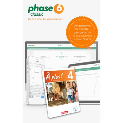 phase-6 Vokabelpaket zu À plus! Nouvelle édition - Band 1 - add-on - ESD