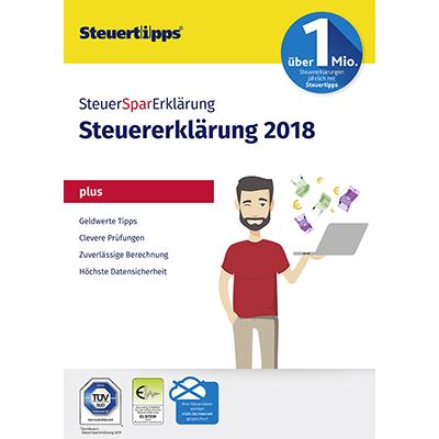SteuerSparErklärung Plus 2019 (für Steuerjahr 2018) - ESD