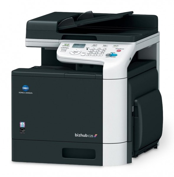Konica Minolta bizhub C25 - Laserdrucker mit Fax-Funktion