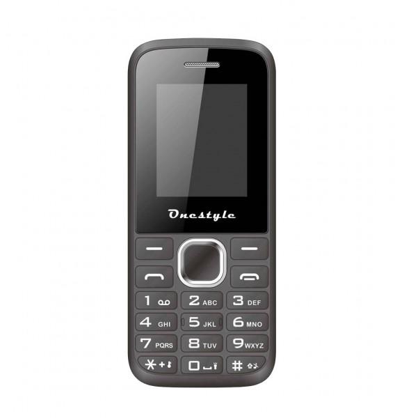 CORN Basic One Style Shell Handy - 32 MB Dual SIM - 1,77 Zoll Handy - schwarz