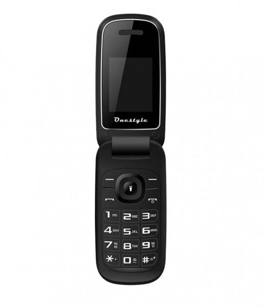 CORN One Style Shell Handy - 64 MB Dual SIM - 1,77 Zoll Handy - schwarz