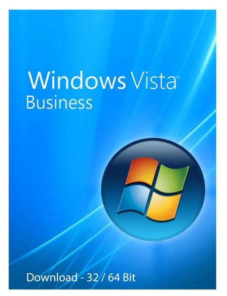 Windows Vista Business Download Aktivierungsschlüssel für 32 / 64 Bit
