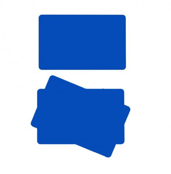 ZEBRA Karten aus PVC, 30 mil, blau, 500 Karten Kit - 104523-134