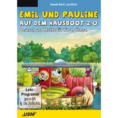 Emil und Pauline auf dem Hausboot 2.0 - Deutsch und Mathe für die 1. Klasse - ESD