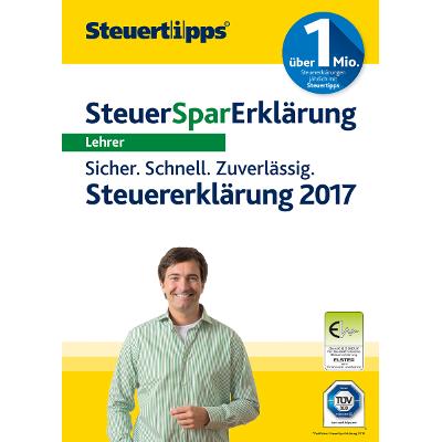 SteuerSparErklärung Lehrer 2018 (für Steuerjahr 2017) - ESD