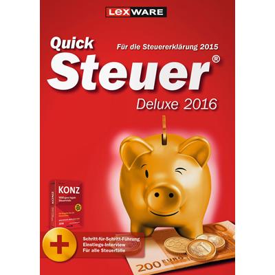 Quicksteuer Deluxe 2016 (für Steuerjahr 2015) - ESD