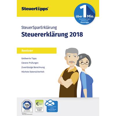 SteuerSparErklärung Rentner 2019 (für Steuerjahr 2018) - ESD