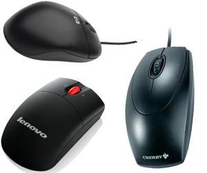 Optische USB Maus - nach Lagerbestand