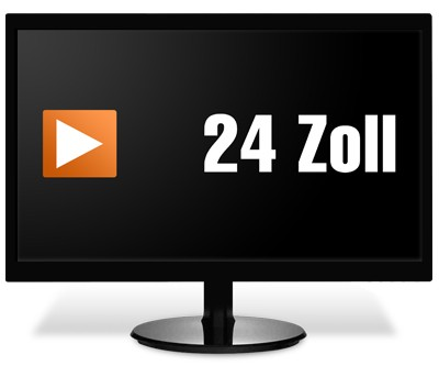 24 Zoll TFT Flachbildschirm Monitor - nach Lagerbestand